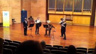 Pentabrass. Malcolm Arnold, Quintet for Brass, 2nd Movement