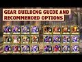 King's Raid - Gear Building Guide and Recommended Options for Different Heroes