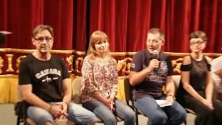 Актеры театра имени Лермонтова в Костанае