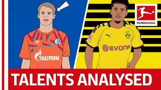 How Dortmund & Schalke 04 Develop Young Players Into Stars - Powered By Tifo Football