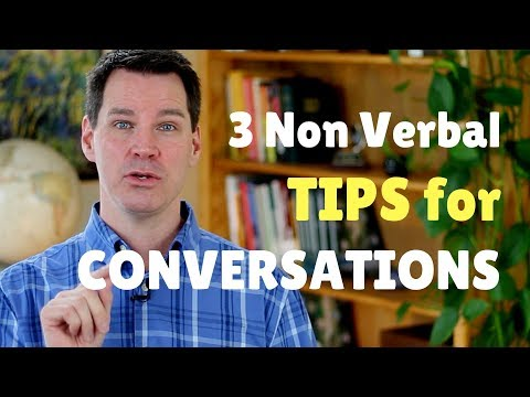 Non Verbal Communication Skills for Conversations