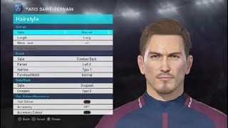 PES 2018 FACES BECKHAM PSG