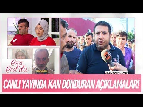 Canlı yayında kan donduran açıklamalar! - Esra Erol'da 8 Haziran 2018