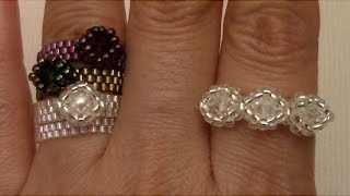 Beaded Stackable Rings 2