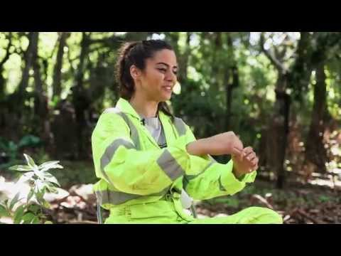 THE GREEN INFERNO - Behind the Scenes: Lorenza Izzo Working in the Amazon