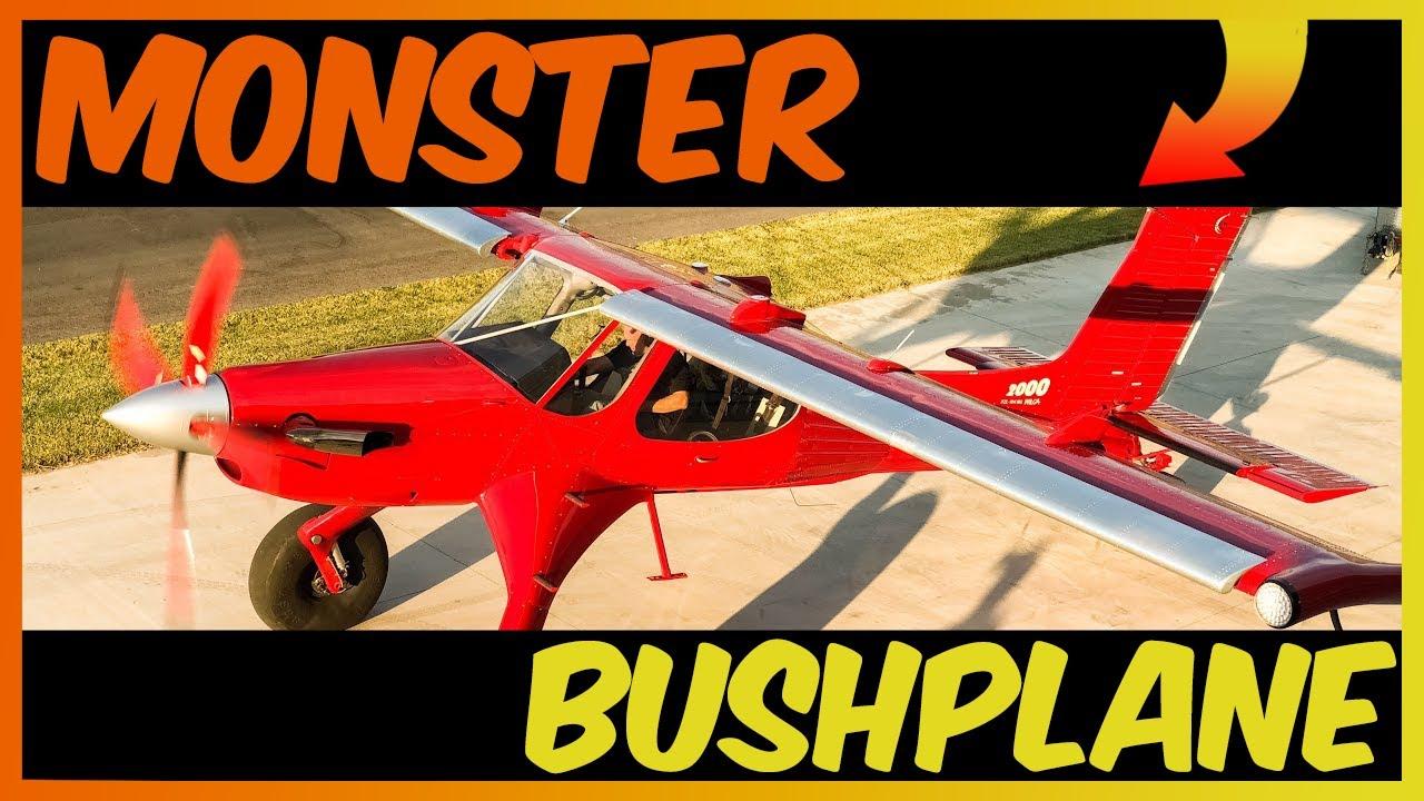 Mike Patey's Draco 680hp Turbine PZL Wilga 2000 Monster Bushplane