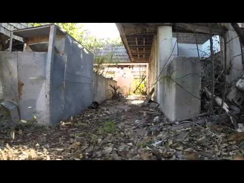 GoPro - Flying a drone through an abandoned building - Bahamas