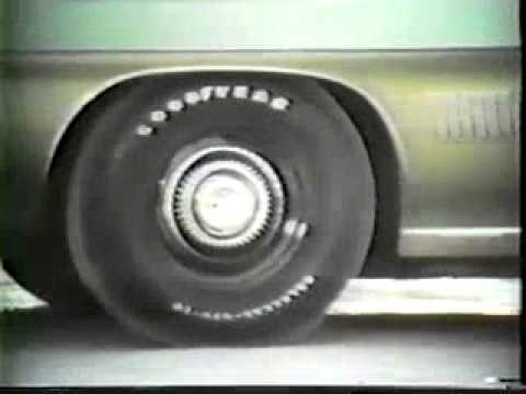 Old Goodyear Tire Commercial 1970