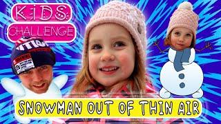Вивви и её зимние развлечения с папой / Little Vivvi and Winter Fun with Dad