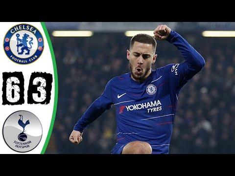 Daawo Chelsea vs Tottenham - Chelsea oo Penalty kaga badisay Tottenham