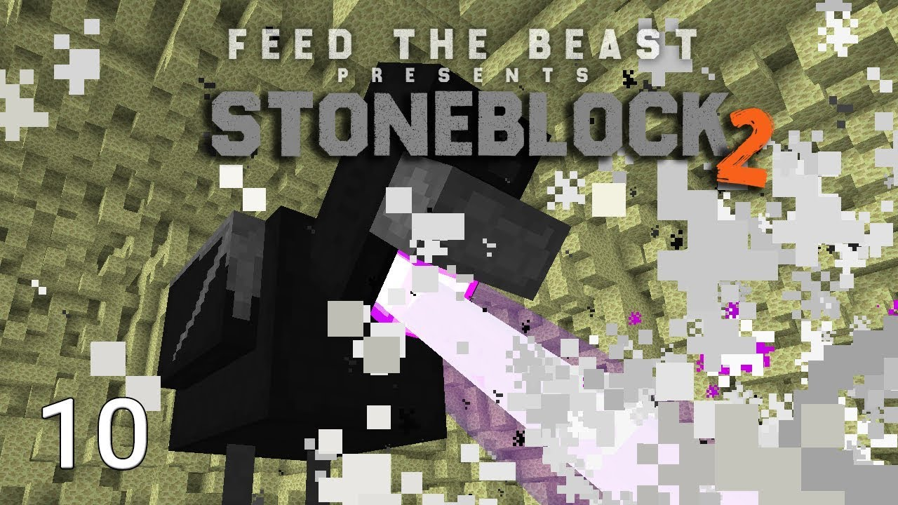 FTB Stoneblock 2 Ender Chicken Boss Destruction