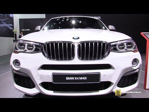 2017 BMW X4 M40i - Exterior and Interior Walkaround - Debut at 2016 Detroit Auto Show