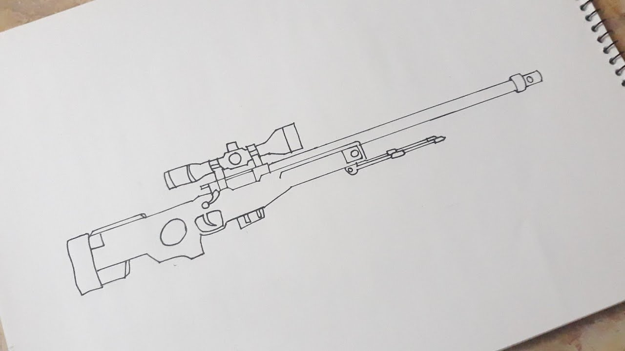 سلاح awm ببجي