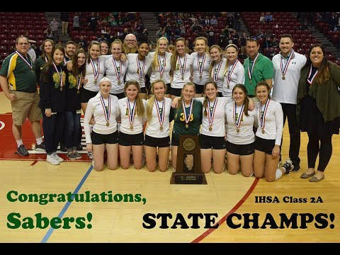 The High School of Saint Thomas More, Champaign: 2017 Illinois Class 2A state volleyball champions