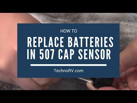 TechnoRV TST 507 Learning Series: Replacing the TST 507 Cap Sensor Battery