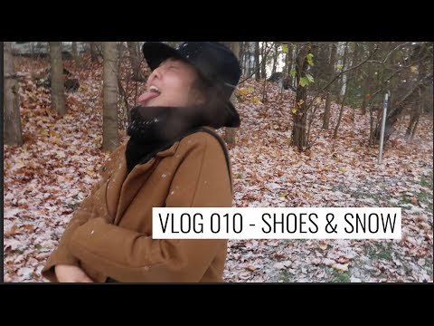 VLOG 010 - UNBOXING SHOES AND SO MUCH SNOW from YouTube · Duration:  18 minutes 5 seconds