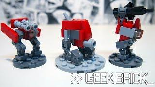 видео лего как сделать мини робота