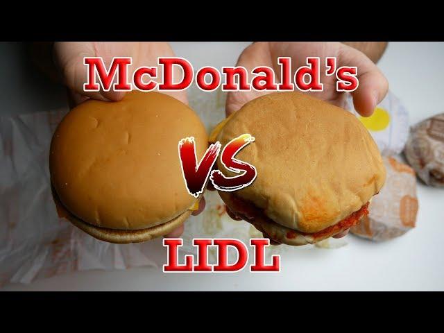Burgery od McLidlu!