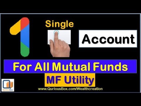 How To Open MF Utility Account | One Account for all Mutual Fund |MF Utility account open|QuriousBox