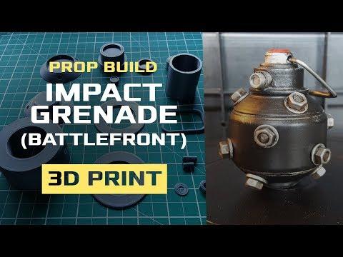 Prop Build: Star Wars Battlefront Impact Grenade