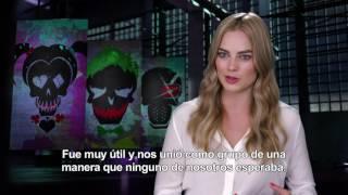 Escuadrón Suicida - Entrevista a Margot Robbie HD