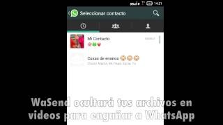 WaSend: Como enviar por WhatsApp cualquier archivo hasta 150Mb