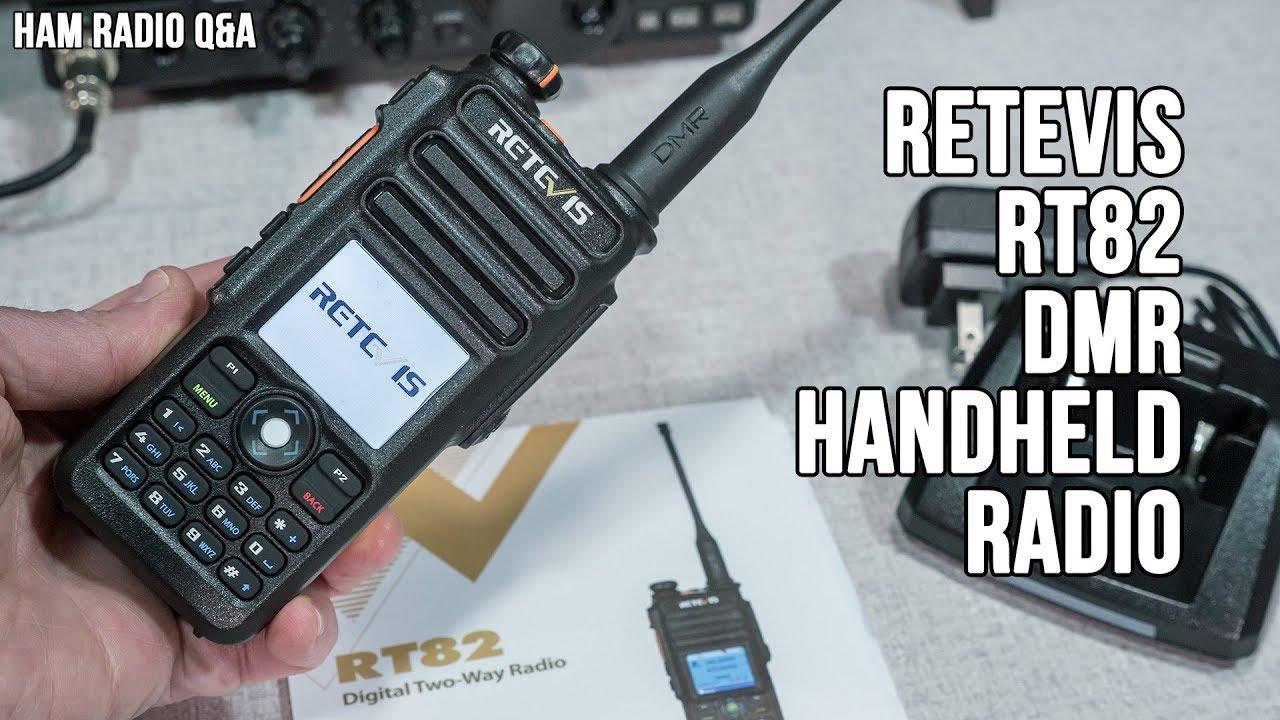Retevis RT82 DMR Dual Band Handheld Radio Review - Ham Radio Q&A