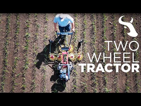 Two Wheel Tractor For Small Scale Farm - Power Ox By Tilmor