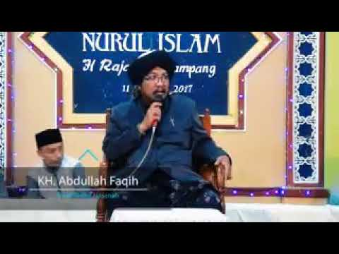 Pengajian KH.Abdullah Faqih Di Sampang Madura