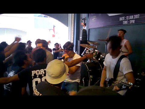 Falling Farewell - Hak Tuit! On Your Fucking Face (Live @ Borneo Attack 3)
