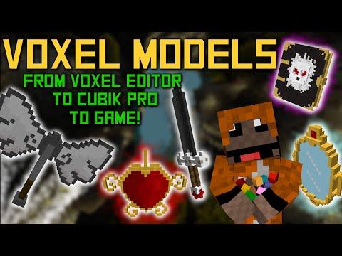 advanced tutorial create minecraft models w voxel editors