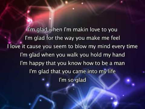Jennifer Lopez - I'm Glad, Lyrics In Video