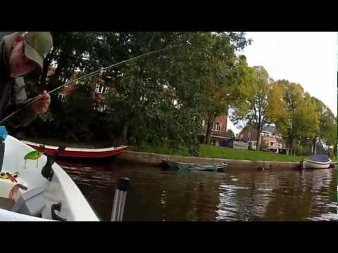 Pike Fishing on the Amsterdam canals (Hengelsport 2000 Amsterdam)