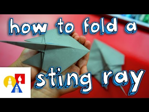 How To Fold An Origami Stingray