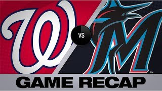 Turner, Cabrera lead Nationals to a 6-4 win | Nationals-Marlins Game Highlights 9/20/19