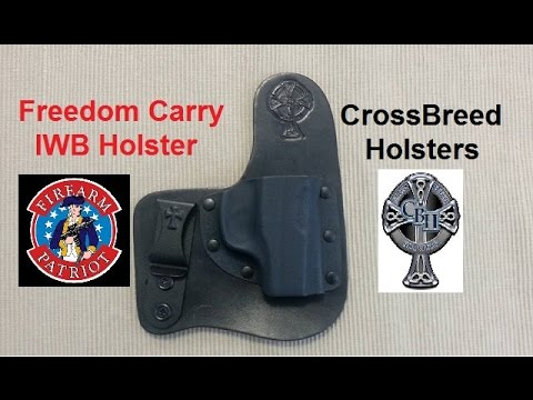 Freedom Carry IWB Holster from CrossBreed Holsters!