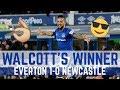 WALCOTT'S WINNER! - EVERTON 1-0 NEWCASTLE