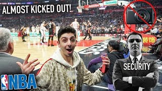 SURPRISED FAZE RUG GONE WRONG! *FRONT ROW SEATS*