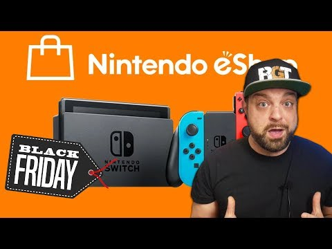 The BEST Switch eShop Black Friday 2019 DEALS!