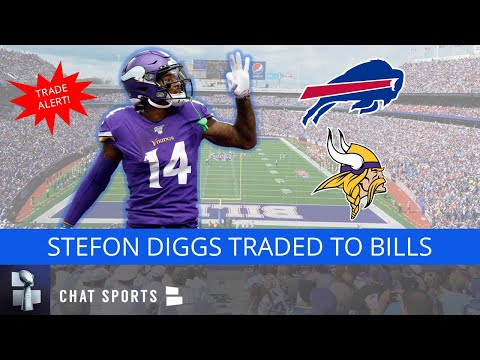 Stefon Diggs Traded Buffalo Bills, Minnesota Viking Receive Package Including 1st Round Draft Pick