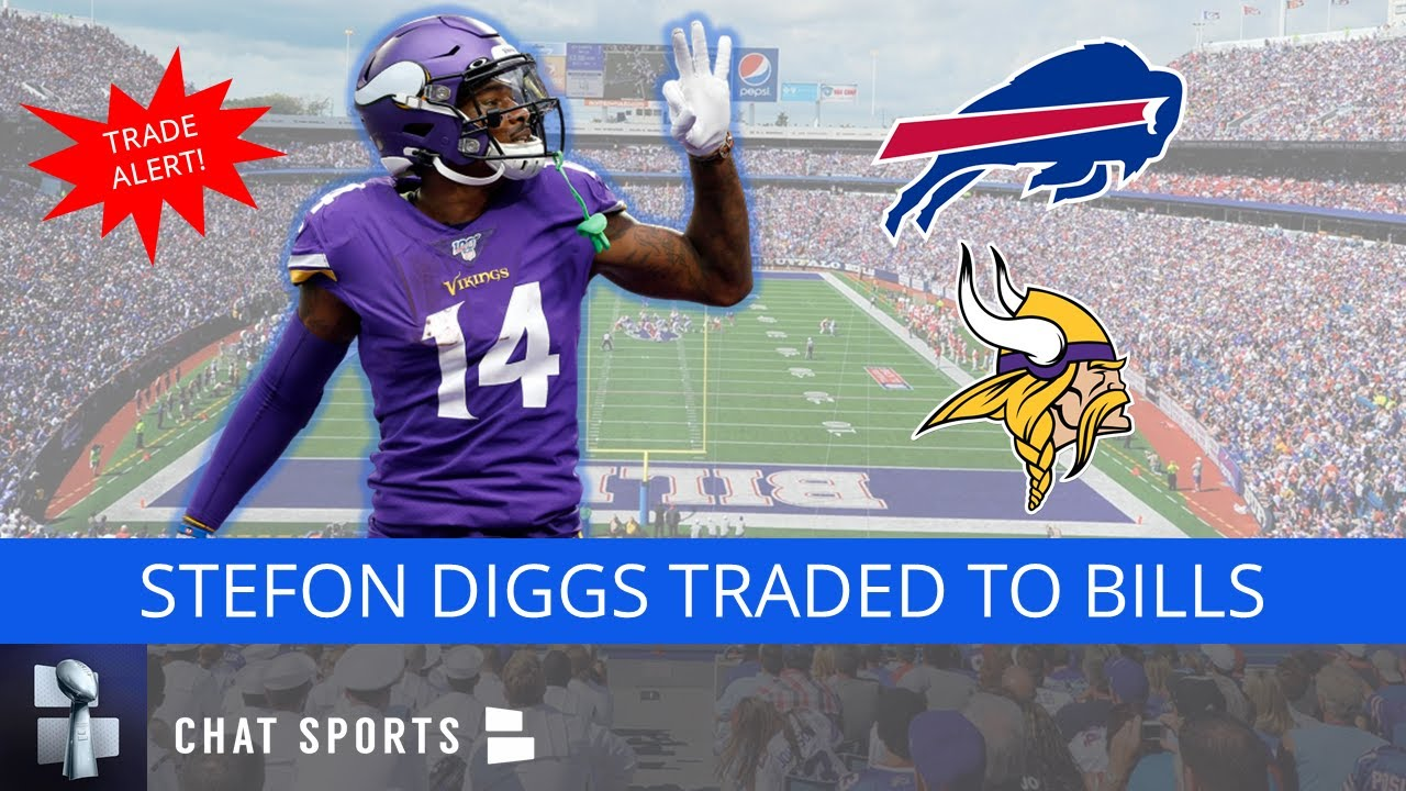 Stefon Diggs Traded to Bills For Four Draft Picks