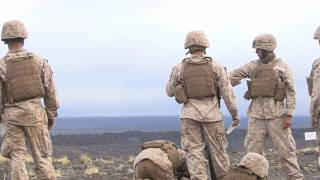 Mortar Training at Pohakuloa Training Area, Hawaii