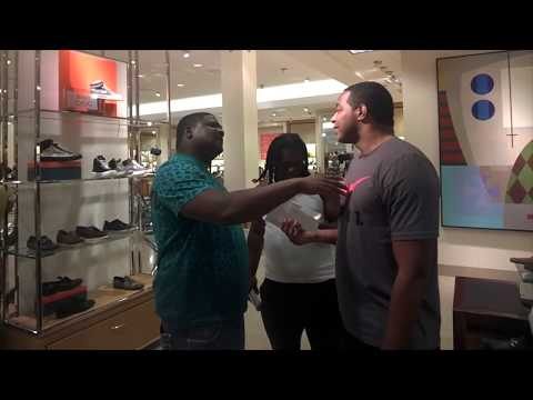 Millionaire JayMrRealEstate gets confronted by two New Orleans Goons in Neiman Marcus