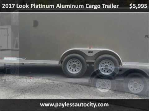 2017 Look Platinum Aluminum Cargo Trailer New Cars Pittsburg