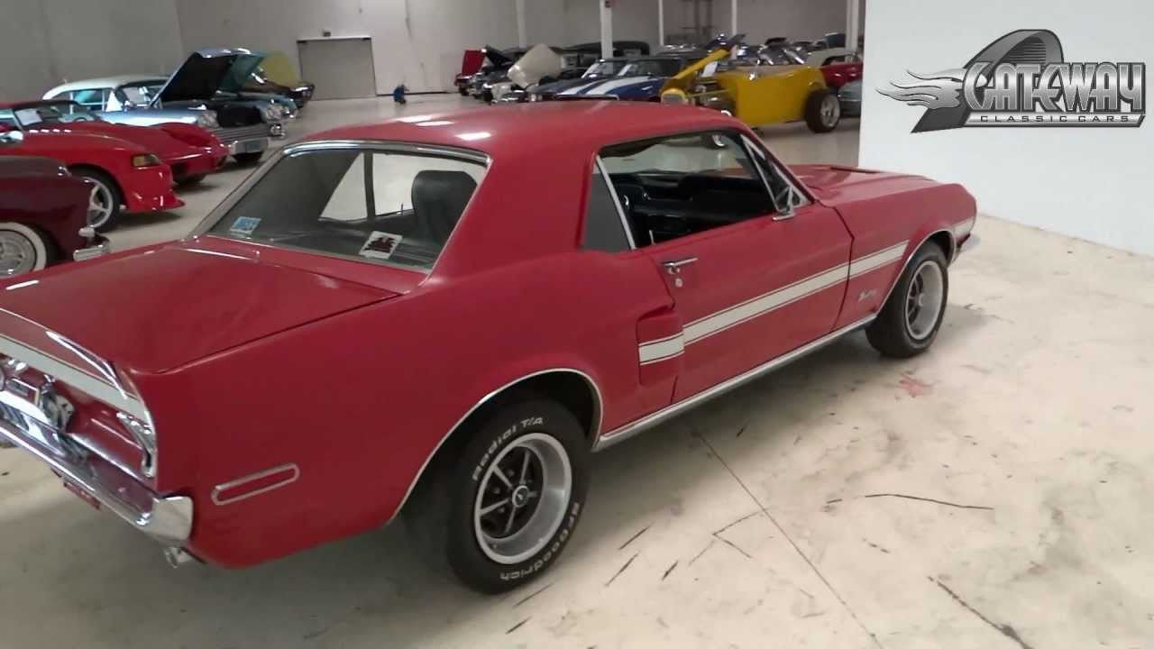 1968 ford mustang gt california special clone youtube. Black Bedroom Furniture Sets. Home Design Ideas
