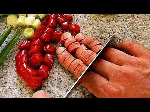 Быстрая нарезка и разделка ножом от поваров профессионалов