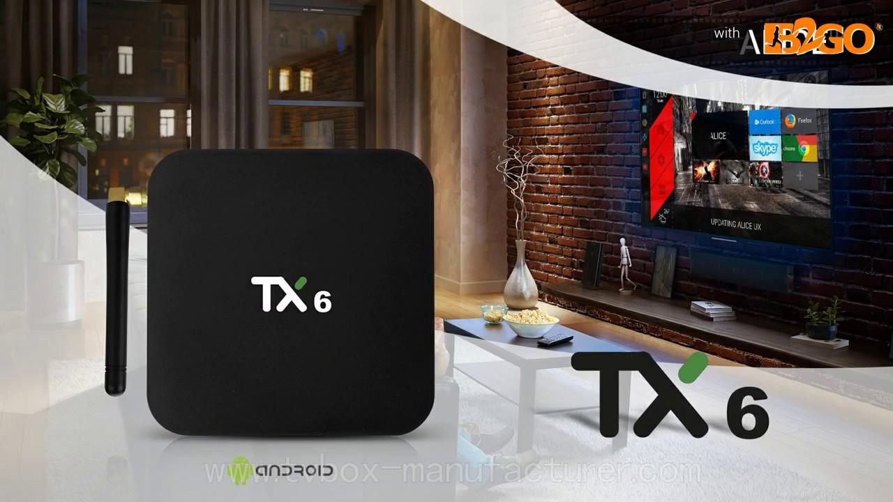 Tanix TX6 TV Box Allwinner H6 Android 7 1 4GB RAM 32GB ROM