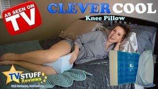 Clever Cool Review (As Seen on TV) – Cold Knee Pillow!