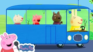 Peppa Pig The Wheels on the Bus | Peppa Pig Songs | Nursery Rhymes + Kids Songs
