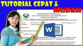 Download lagu Cara membuat KOP SURAT RESMI DINAS / Dg BAIK DAN BENAR...!!!